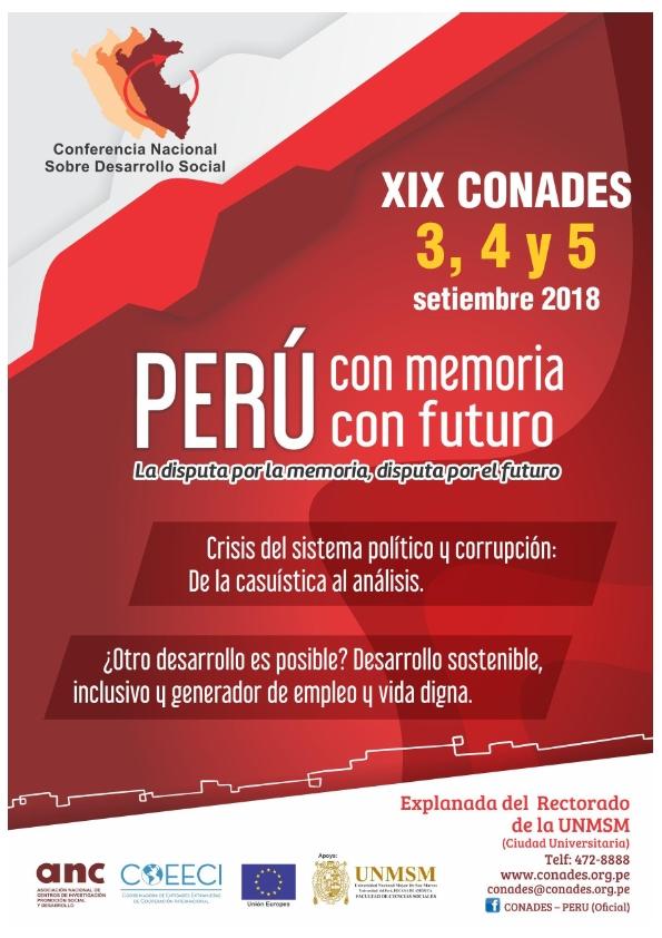 Convocatoria OFICIAL a la XIX CONADES_001
